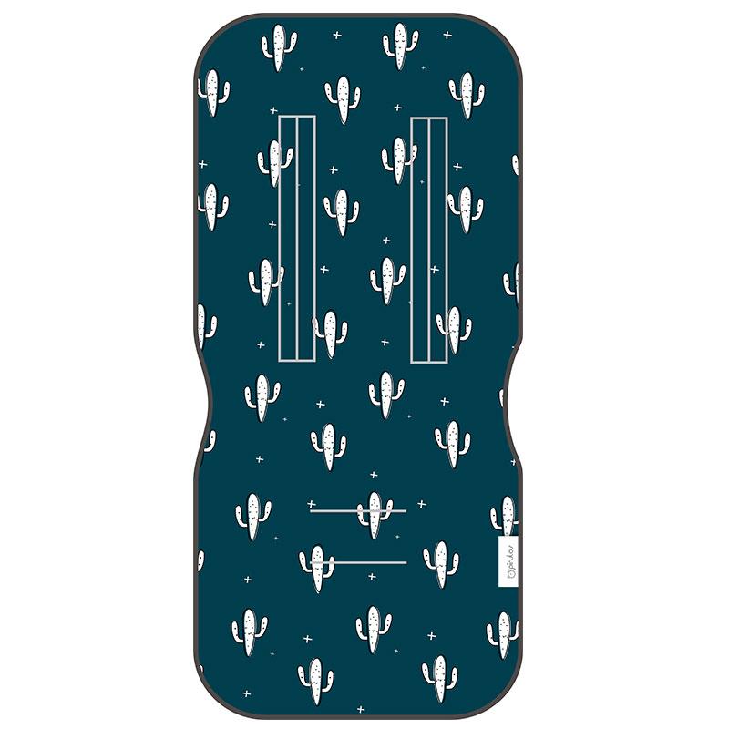 2508c550261 Pirulos Στρωματάκι Καροτσιού Μονής Όψεως Cactus Blue