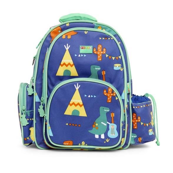 3b3610c7d5 Penny Scallan Τσάντα Πλάτης Μεγάλη Dino Rock Μπλε